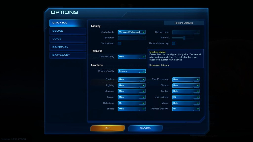 StarCraft II: What Hardware do you Need to Play With Extreme/Ultra Settings?