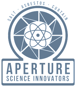 The Aperture Science Logo for Portal 2 and its System Requirements