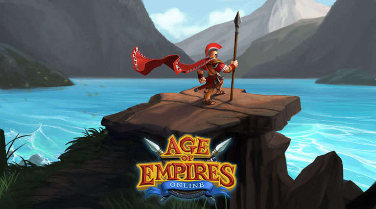 Age of Empires Online at Newb Computer Build