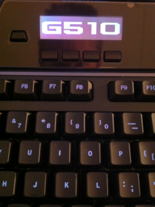Logitech G510 Middle View
