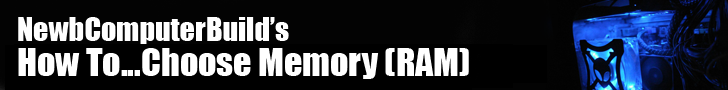 Banner for how to choose memory (ram) for your gaming pc build