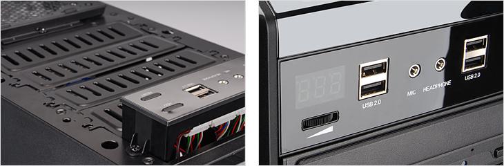 Zalman Z9 Plus Interface