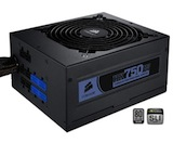 Corsair HX Professional Series 750-Watt 80 Plus Certified Power Supply Compatible with Core i7 and Core i5 - CMPSU-750HX