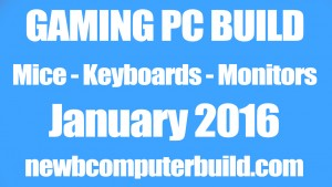 Jan 2016 Best Gaming Keyboard Mice and Monitors