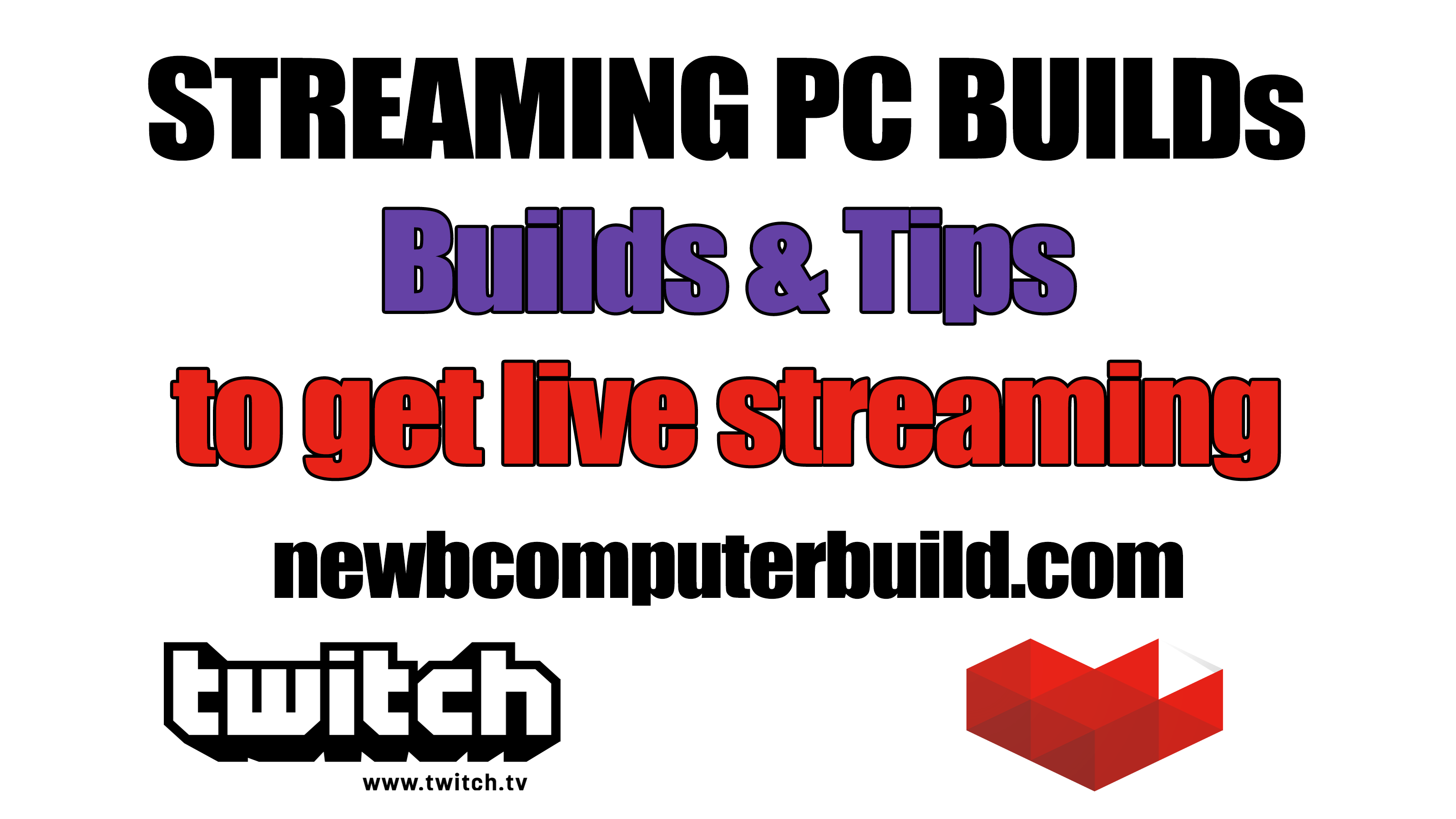 Streaming PC Build for Twitch or Youtube Gaming