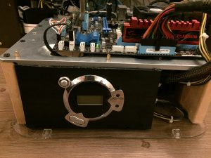 Kodi Box PC Build on a DIY PC Test Bench Front View
