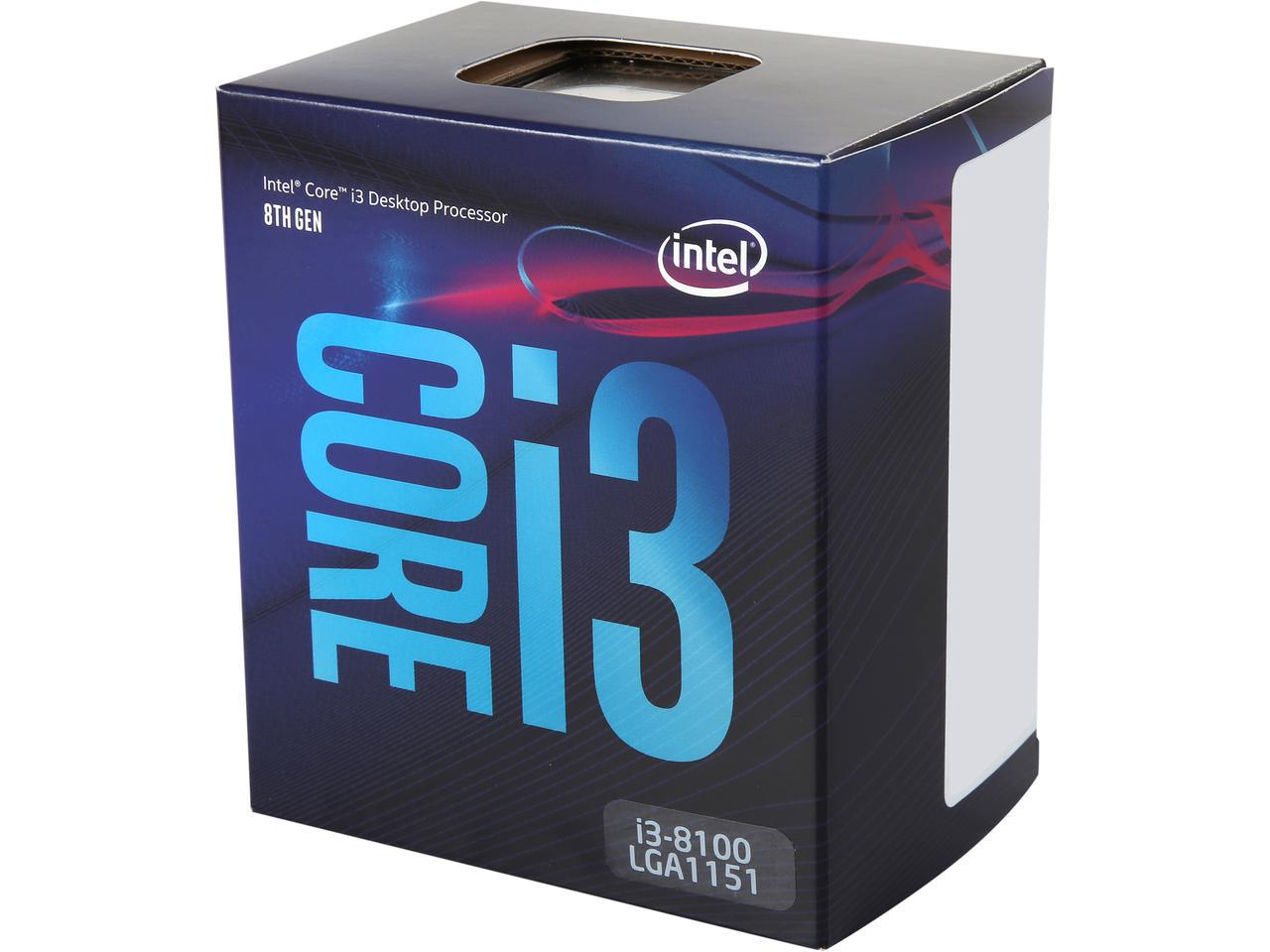 Intel Core 8100 Coffee Lake