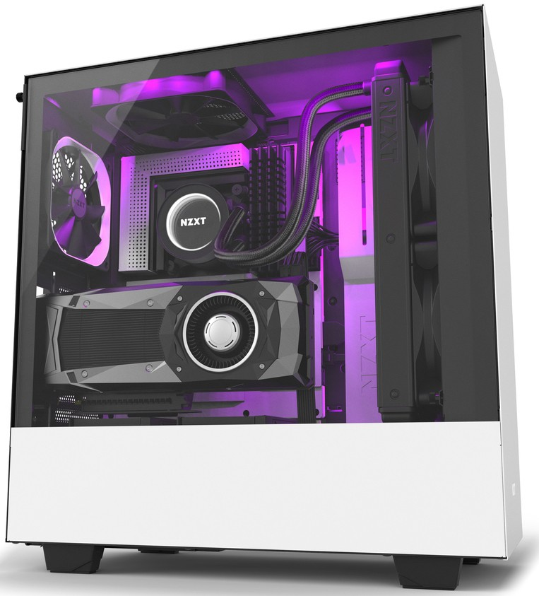 NZXT H500i RGB Gaming PC Build