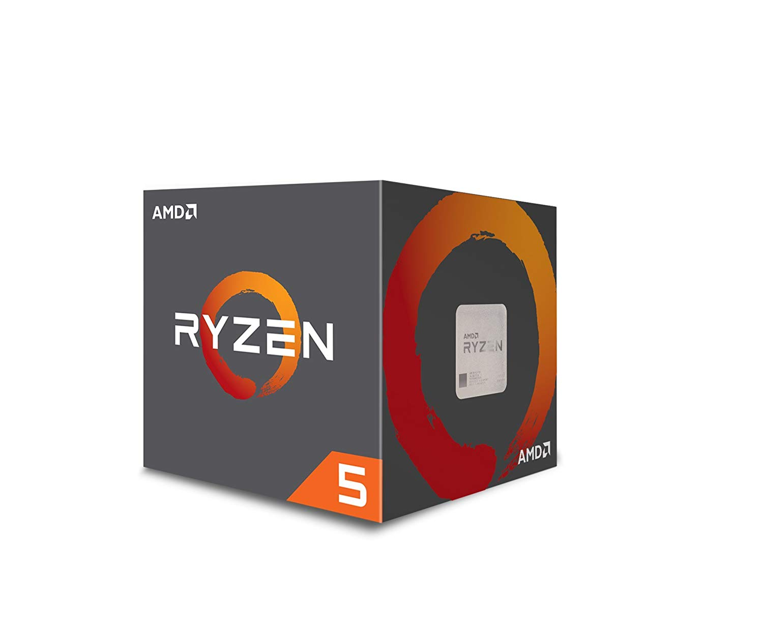 1 CPU - AMD Ryzen 5 2600 Processor - Best $700 PC Build 2019