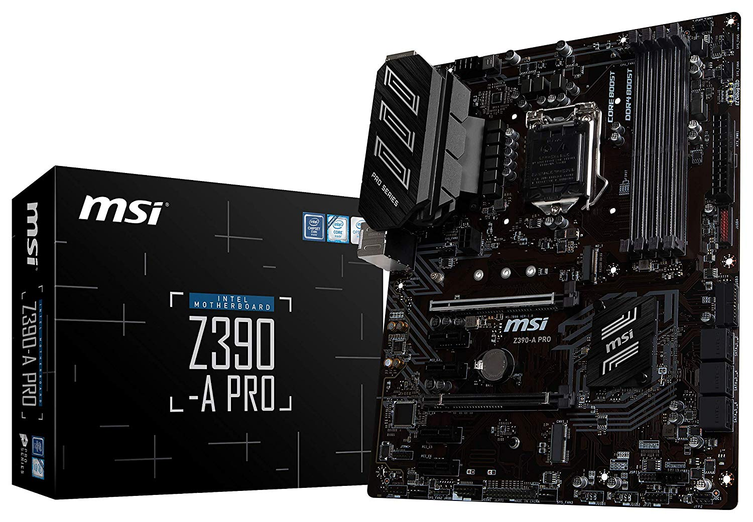 3 Motherboard - MSI Z390-A PRO LGA1151 - Best $1000 PC Build 2019