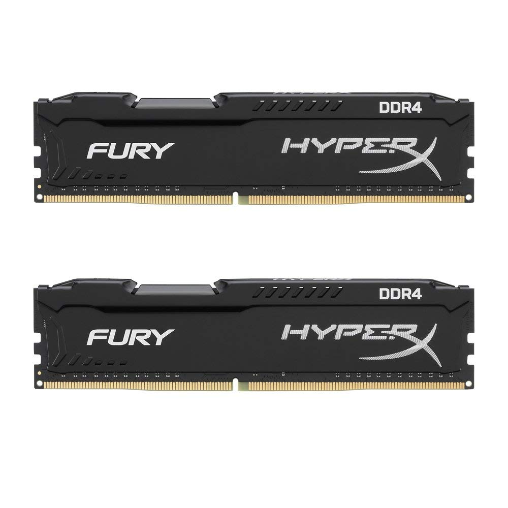5 RAM - 8Gb HyperX Kingston Technology FURY 2666MHz DDR4 - Best $1000 PC Build 2019