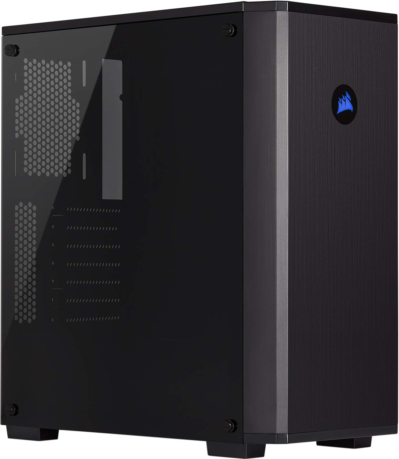 8 Case - Corsair Carbide Series 175R RGB Tempered Glass Mid-Tower - Best $700 PC Build 2019