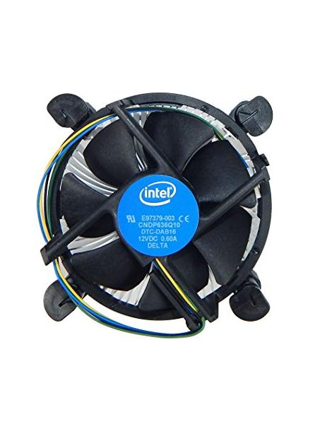 2 Cooler - Intel 8100 Stock Cooler - Best $500 PC Build 2019