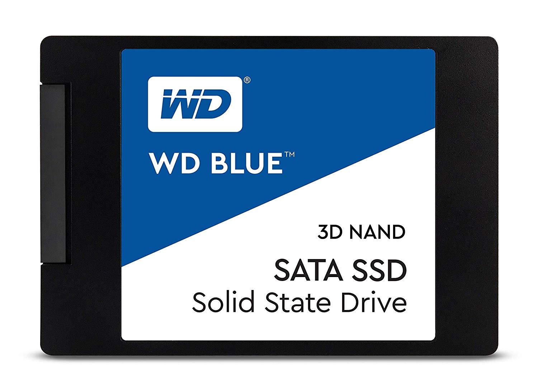 6 SSD WD Blue 3D NAND 250GB PC SSD - Best $500 PC Build 2019