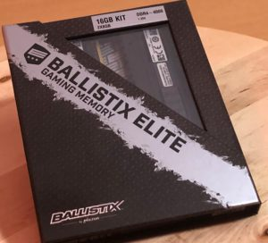Crucial Ballistix Elite Gaming Memory 16GB