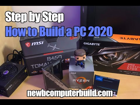 How to Build a Gaming PC Step By Step for 2020 by Newb Computer Build