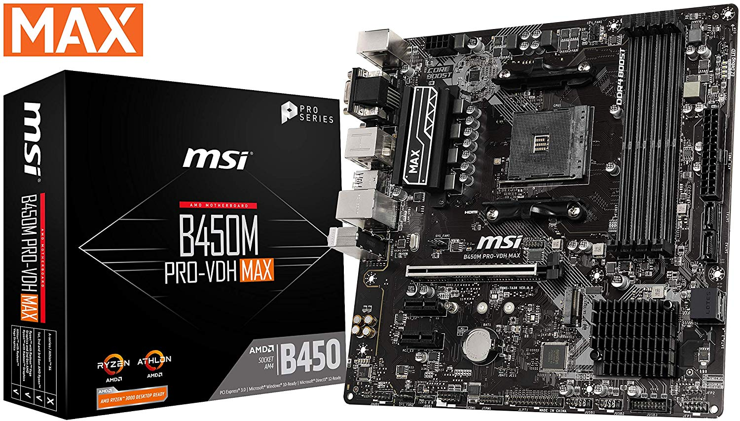 3 Motherboard - Best $500 PC Build 2020