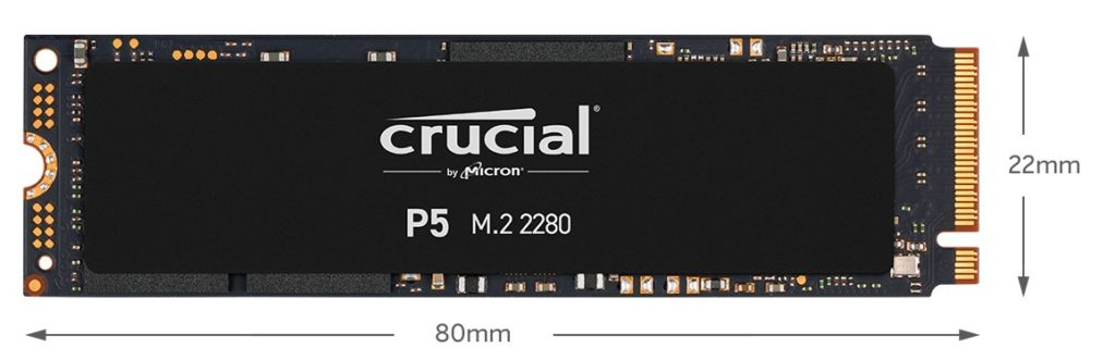 crucial-p5-ssd-dimensions