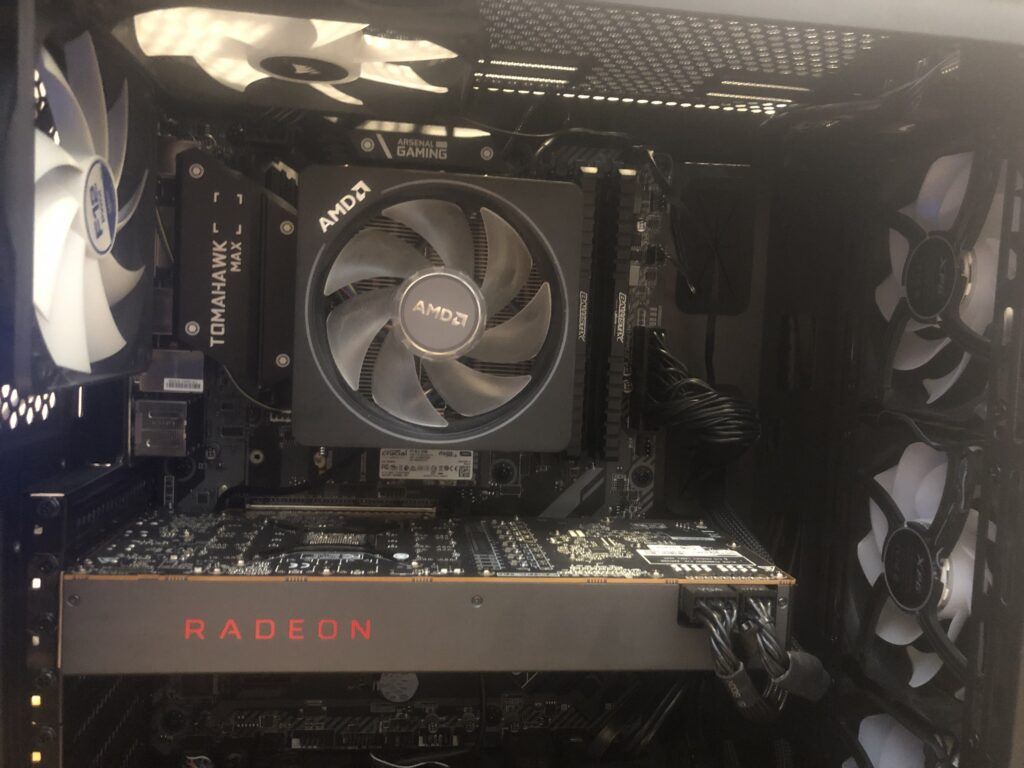 Gaming PC Temperature Benchmark All Fans
