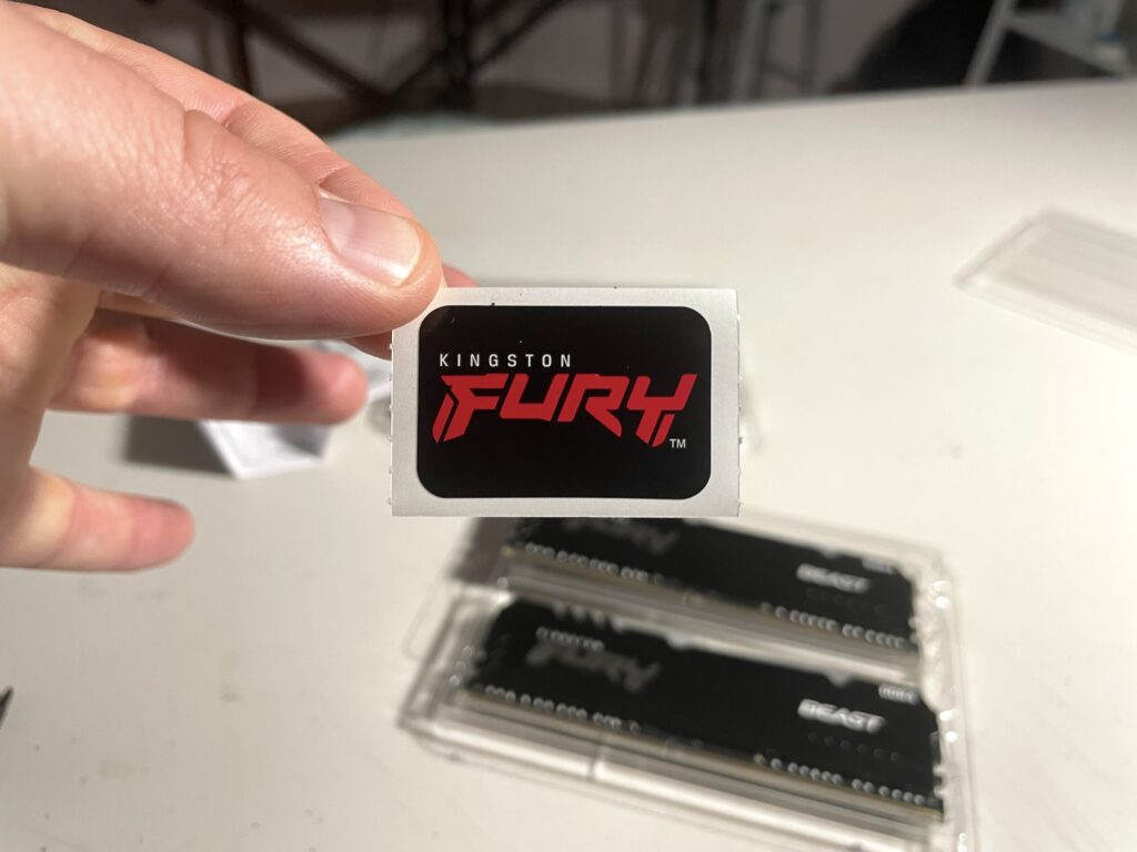 Kingston Fury BEAST Unboxing Review - Newb Computer Build 2