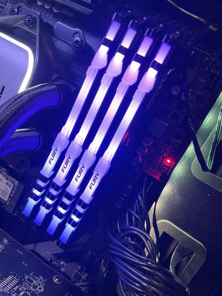 Kingston Fury Beast RGB Purple - Newb Computer Build Review