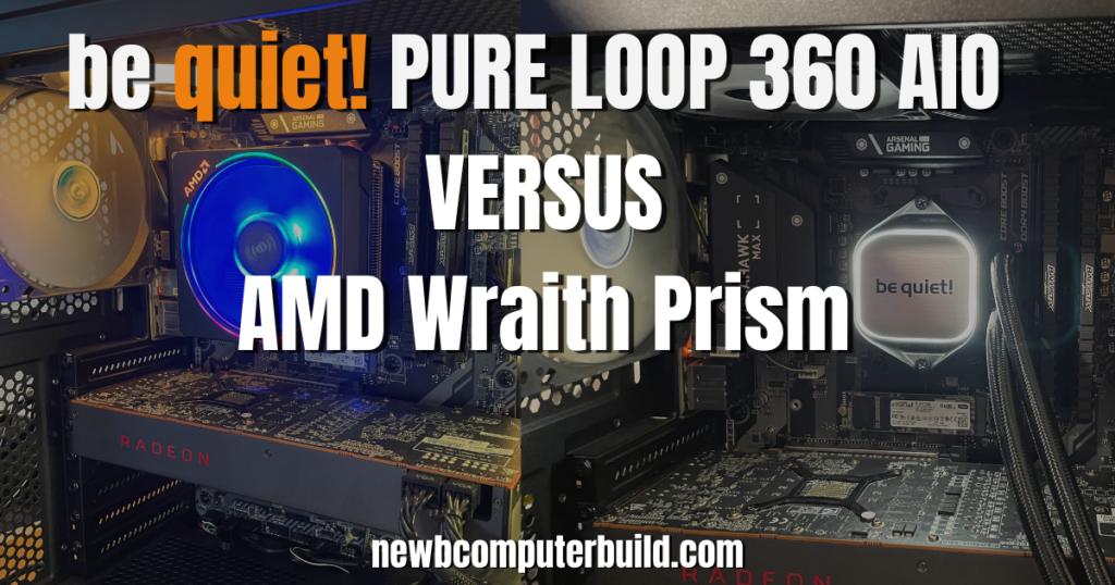 be quiet! Pure Loop 360mm Versus Stock Ryzen Cooling Review
